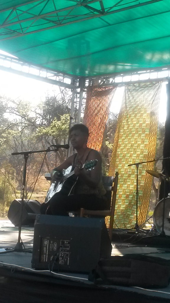 Cathy Mhlanga Performing